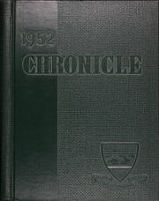 Mary Institute - Chronicle Yearbook (St Louis, MO) online yearbook collection, 1952 Edition, Page 1