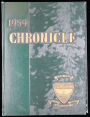 Page 1, 1959 Edition, Mary Institute - Chronicle Yearbook (St Louis, MO) online yearbook collection