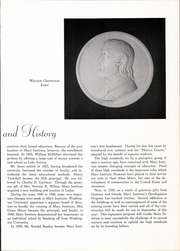 Page 11, 1959 Edition, Mary Institute - Chronicle Yearbook (St Louis, MO) online yearbook collection