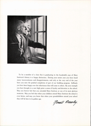 Page 12, 1959 Edition, Mary Institute - Chronicle Yearbook (St Louis, MO) online yearbook collection