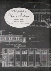 Page 5, 1959 Edition, Mary Institute - Chronicle Yearbook (St Louis, MO) online yearbook collection