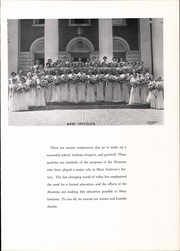 Page 9, 1959 Edition, Mary Institute - Chronicle Yearbook (St Louis, MO) online yearbook collection