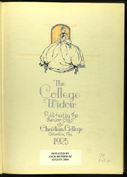 Page 7, 1925 Edition, Christian College - Ivy Chain Yearbook (Columbia, MO) online yearbook collection