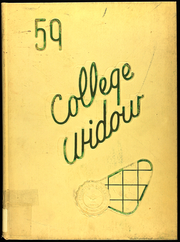 1959 Edition, Christian College - Ivy Chain Yearbook (Columbia, MO)