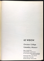 Page 5, 1962 Edition, Christian College - Ivy Chain Yearbook (Columbia, MO) online yearbook collection