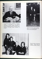 Page 12, 1964 Edition, Christian College - Ivy Chain Yearbook (Columbia, MO) online yearbook collection