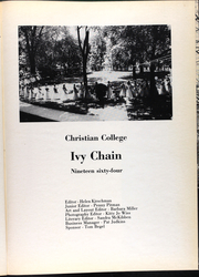 Page 5, 1964 Edition, Christian College - Ivy Chain Yearbook (Columbia, MO) online yearbook collection