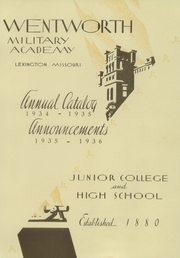 Page 9, 1935 Edition, Wentworth Military Academy - Yearbook (Lexington, MO) online yearbook collection
