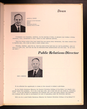 Page 9, 1961 Edition, Central Christian College - Yearbook (Moberly, MO) online yearbook collection