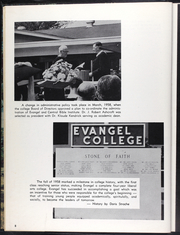 Page 12, 1959 Edition, Evangel University - Lancer Yearbook (Springfield, MO) online yearbook collection