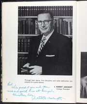 Page 14, 1959 Edition, Evangel University - Lancer Yearbook (Springfield, MO) online yearbook collection