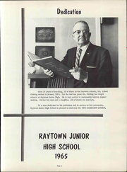 Page 9, 1965 Edition, Raytown Junior High School - Ramizzou Junior Yearbook (Raytown, MO) online yearbook collection