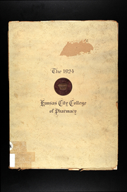 1924 Edition, Kansas City College of Pharmacy - Yearbook (Kansas City, MO)