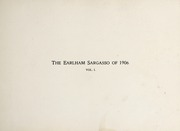 Page 5, 1906 Edition, Earlham College - Sargasso Yearbook (Richmond, IN) online yearbook collection