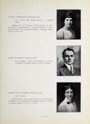Page 15, 1912 Edition, Earlham College - Sargasso Yearbook (Richmond, IN) online yearbook collection