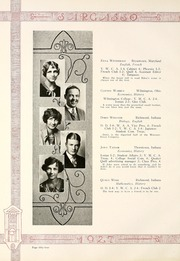 Page 64, 1927 Edition, Earlham College - Sargasso Yearbook (Richmond, IN) online yearbook collection