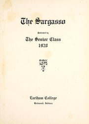 Page 7, 1928 Edition, Earlham College - Sargasso Yearbook (Richmond, IN) online yearbook collection