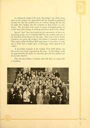 Page 89, 1933 Edition, Earlham College - Sargasso Yearbook (Richmond, IN) online yearbook collection