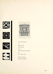 Page 5, 1949 Edition, Earlham College - Sargasso Yearbook (Richmond, IN) online yearbook collection