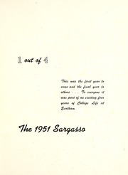 Page 5, 1951 Edition, Earlham College - Sargasso Yearbook (Richmond, IN) online yearbook collection