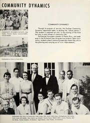 Page 17, 1955 Edition, Earlham College - Sargasso Yearbook (Richmond, IN) online yearbook collection