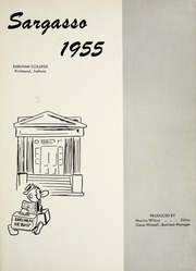 Page 5, 1955 Edition, Earlham College - Sargasso Yearbook (Richmond, IN) online yearbook collection