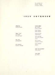 Page 5, 1959 Edition, Earlham College - Sargasso Yearbook (Richmond, IN) online yearbook collection