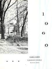 Page 7, 1960 Edition, Earlham College - Sargasso Yearbook (Richmond, IN) online yearbook collection