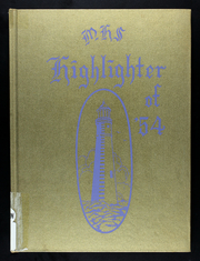 1954 Edition, Marquand High School - Highlighter Yearbook (Marquand, MO)