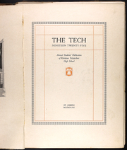 Page 5, 1925 Edition, Robidoux Polytechnic High School - Tech Yearbook (St Joseph, MO) online yearbook collection