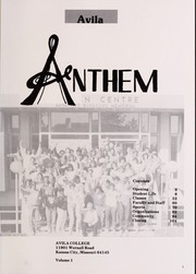 Page 5, 1987 Edition, Avila University - Anthem Yearbook (Kansas City, MO) online yearbook collection