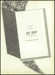 Page 5, 1958 Edition, Conway Phillipsburg High School - Bear Yearbook (Conway, MO) online yearbook collection