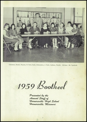 Page 5, 1959 Edition, Hornersville High School - Bootheel Yearbook (Hornersville, MO) online yearbook collection