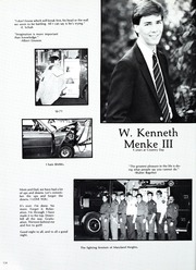 Page 138, 1986 Edition, St Louis Country Day School - Codasco Yearbook (St Louis, MO) online yearbook collection