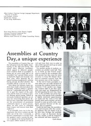 Page 200, 1986 Edition, St Louis Country Day School - Codasco Yearbook (St Louis, MO) online yearbook collection