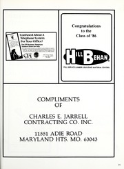 Page 219, 1986 Edition, St Louis Country Day School - Codasco Yearbook (St Louis, MO) online yearbook collection
