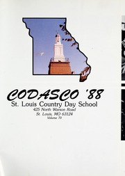 Page 5, 1988 Edition, St Louis Country Day School - Codasco Yearbook (St Louis, MO) online yearbook collection