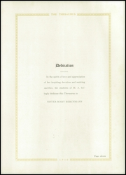 Page 15, 1930 Edition, Mercy Academy - Thesaurus Yearbook (Marshall, MO) online yearbook collection