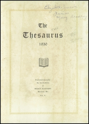 Page 5, 1930 Edition, Mercy Academy - Thesaurus Yearbook (Marshall, MO) online yearbook collection