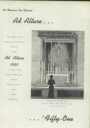 Page 3, 1951 Edition, St Louis Preparatory Seminary - Ad Altare Yearbook (St Louis, MO) online yearbook collection