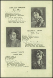 Page 17, 1921 Edition, Academy of the Visitation - Crescent Yearbook (St Louis, MO) online yearbook collection