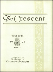 Page 9, 1926 Edition, Academy of the Visitation - Crescent Yearbook (St Louis, MO) online yearbook collection
