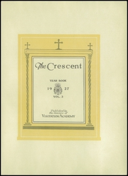 Page 9, 1927 Edition, Academy of the Visitation - Crescent Yearbook (St Louis, MO) online yearbook collection