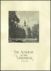 Page 6, 1934 Edition, Academy of the Visitation - Crescent Yearbook (St Louis, MO) online yearbook collection