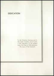 Page 10, 1936 Edition, Academy of the Visitation - Crescent Yearbook (St Louis, MO) online yearbook collection