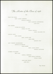 Page 17, 1936 Edition, Academy of the Visitation - Crescent Yearbook (St Louis, MO) online yearbook collection