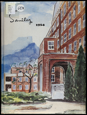 1954 Edition, Independence Sanitarium School of Nursing - Sanilog Yearbook (Independence, MO)