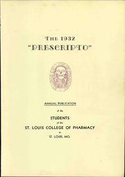 Page 11, 1932 Edition, St Louis College of Pharmacy - Prescripto Yearbook (St Louis, MO) online yearbook collection