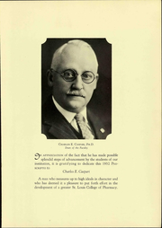 Page 15, 1932 Edition, St Louis College of Pharmacy - Prescripto Yearbook (St Louis, MO) online yearbook collection