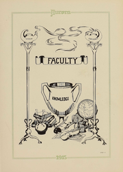 Page 10, 1915 Edition, Eastern Michigan University - Aurora Yearbook (Ypsilanti, MI) online yearbook collection
